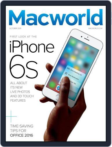 Macworld (Digital) October 1st, 2015 Issue Cover