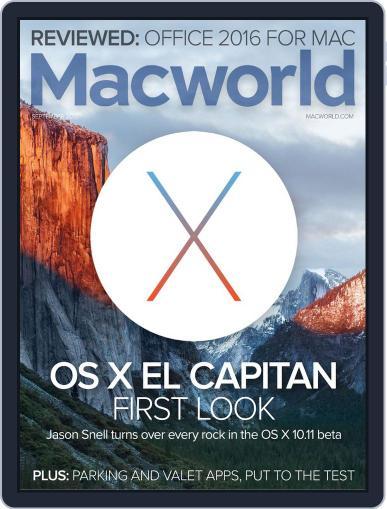 Macworld September 1st, 2015 Digital Back Issue Cover