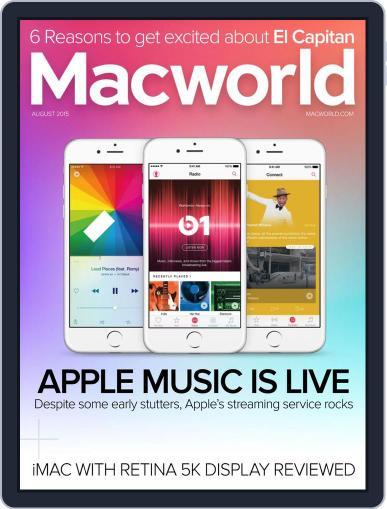 Macworld (Digital) August 1st, 2015 Issue Cover