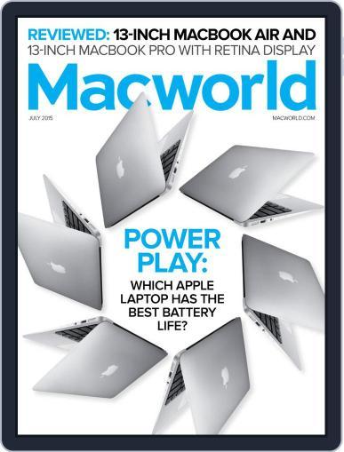Macworld (Digital) July 1st, 2015 Issue Cover