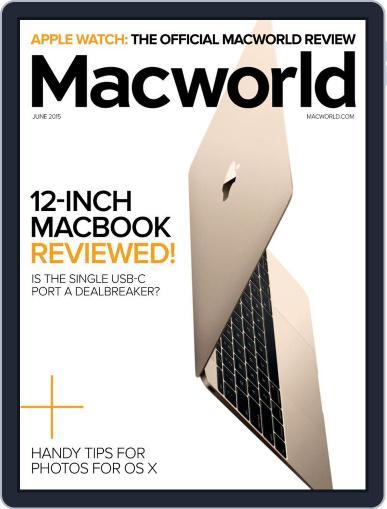 Macworld June 1st, 2015 Digital Back Issue Cover