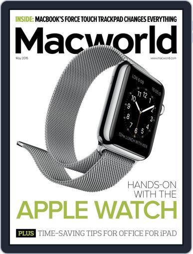 Macworld May 1st, 2015 Digital Back Issue Cover