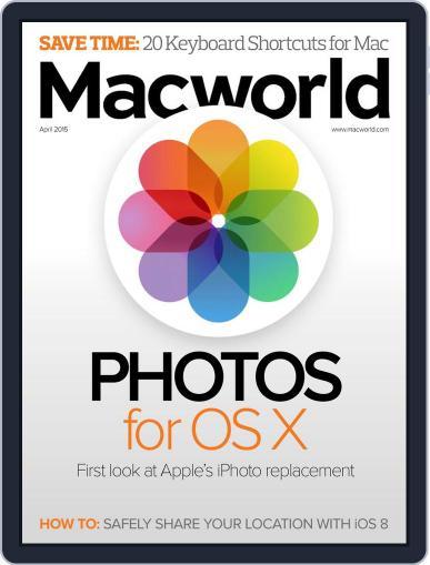 Macworld (Digital) April 1st, 2015 Issue Cover