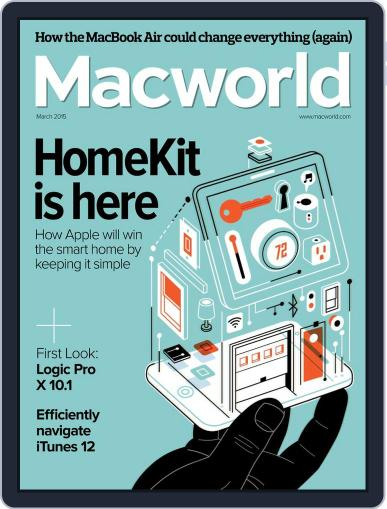 Macworld (Digital) March 1st, 2015 Issue Cover