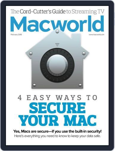 Macworld February 1st, 2015 Digital Back Issue Cover