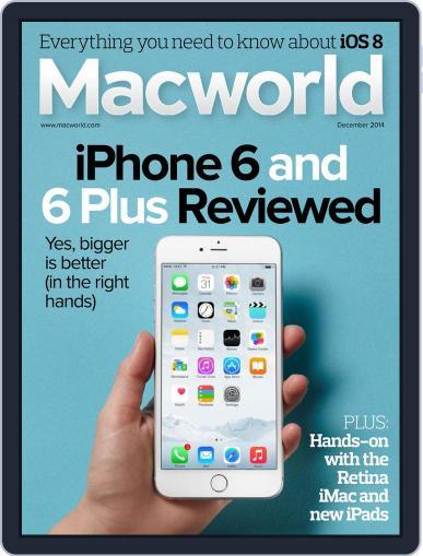 Macworld November 18th, 2014 Digital Back Issue Cover