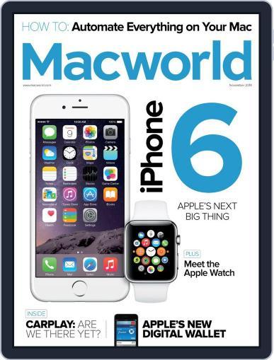 Macworld (Digital) November 1st, 2014 Issue Cover