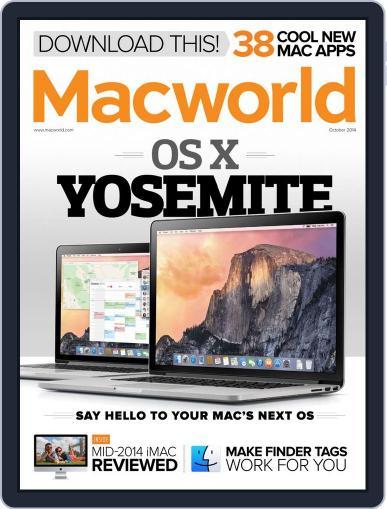 Macworld (Digital) October 1st, 2014 Issue Cover