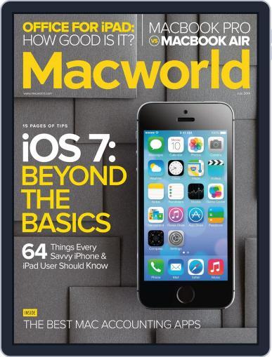 Macworld July 1st, 2014 Digital Back Issue Cover