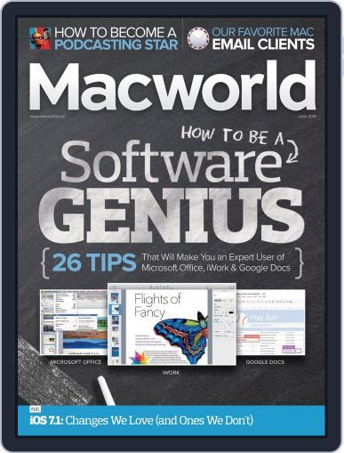 Macworld May 1st, 2014 Digital Back Issue Cover