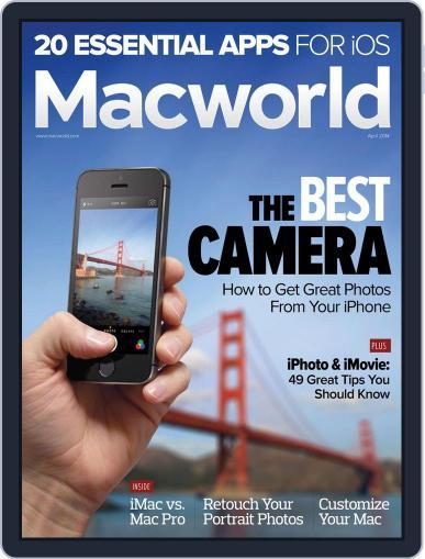Macworld (Digital) April 1st, 2014 Issue Cover