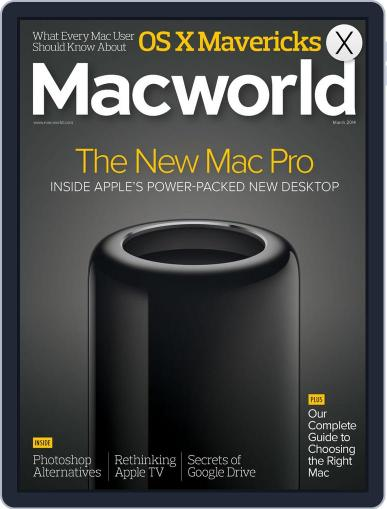 Macworld (Digital) March 1st, 2014 Issue Cover