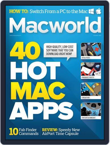 Macworld October 1st, 2013 Digital Back Issue Cover
