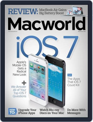 Macworld August 20th, 2013 Digital Back Issue Cover