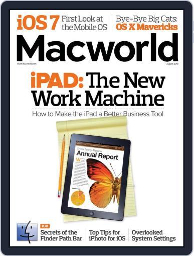 Macworld July 16th, 2013 Digital Back Issue Cover