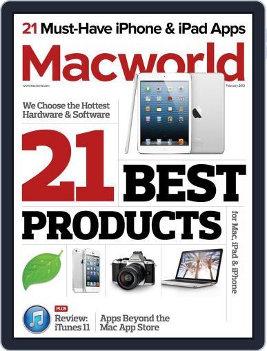 Macworld January 15th, 2013 Digital Back Issue Cover