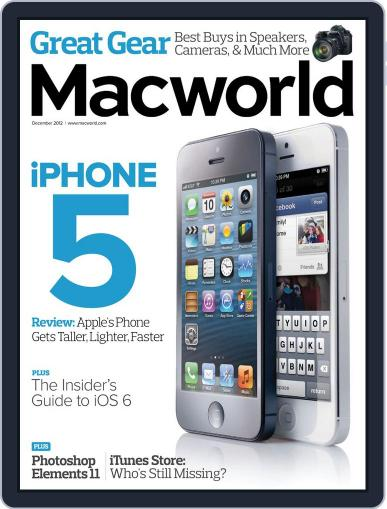 Macworld (Digital) November 20th, 2012 Issue Cover