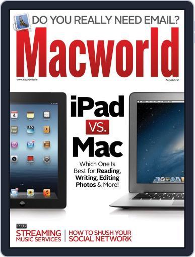 Macworld (Digital) August 1st, 2012 Issue Cover