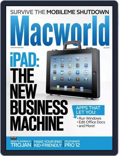 Macworld (Digital) July 1st, 2012 Issue Cover