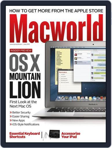 Macworld (Digital) June 1st, 2012 Issue Cover