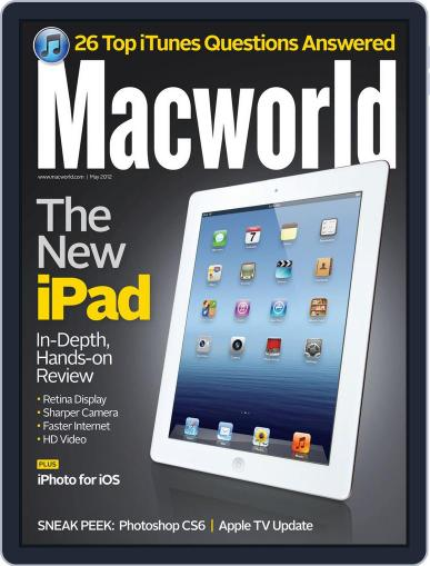 Macworld (Digital) April 17th, 2012 Issue Cover