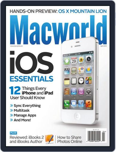 Macworld (Digital) March 20th, 2012 Issue Cover