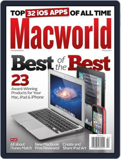 Macworld (Digital) January 17th, 2012 Issue Cover