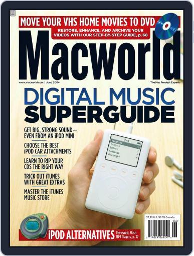 Macworld April 26th, 2004 Digital Back Issue Cover