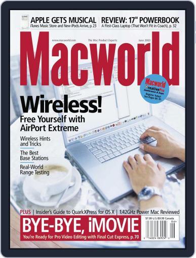 Macworld (Digital) May 8th, 2003 Issue Cover