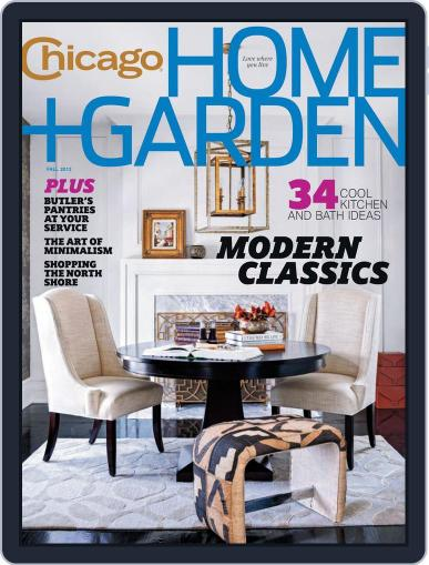 Chicago Home + Garden (Digital) July 20th, 2012 Issue Cover