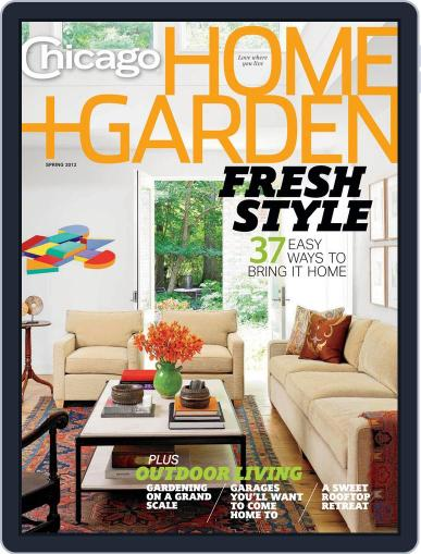 Chicago Home + Garden January 21st, 2012 Digital Back Issue Cover