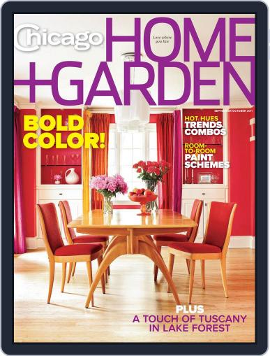 Chicago Home + Garden (Digital) August 26th, 2011 Issue Cover