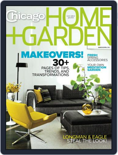Chicago Home + Garden February 26th, 2011 Digital Back Issue Cover