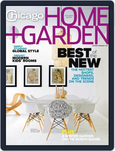 Chicago Home + Garden (Digital) December 23rd, 2010 Issue Cover