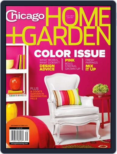 Chicago Home + Garden (Digital) August 28th, 2010 Issue Cover