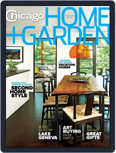 Chicago Home + Garden (Digital) April 19th, 2010 Issue Cover