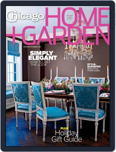 Chicago Home + Garden (Digital) December 1st, 2009 Issue Cover