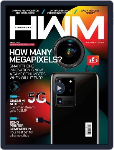 HWM Singapore March 1st, 2020 Digital Back Issue Cover