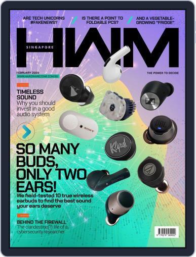 HWM Singapore February 1st, 2020 Digital Back Issue Cover