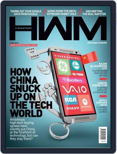 HWM Singapore (Digital) June 1st, 2019 Issue Cover