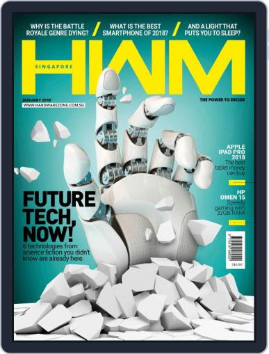 HWM Singapore January 1st, 2019 Digital Back Issue Cover