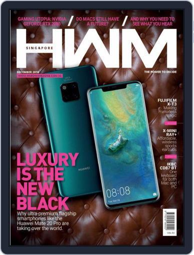 HWM Singapore (Digital) December 1st, 2018 Issue Cover
