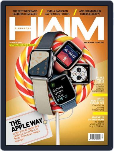 HWM Singapore (Digital) October 1st, 2018 Issue Cover