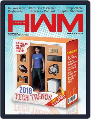 HWM Singapore February 1st, 2018 Digital Back Issue Cover