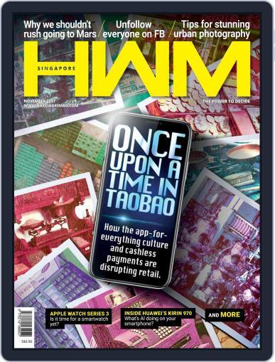 HWM Singapore (Digital) November 1st, 2017 Issue Cover