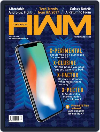 HWM Singapore (Digital) October 1st, 2017 Issue Cover