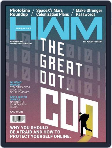 HWM Singapore (Digital) November 1st, 2016 Issue Cover