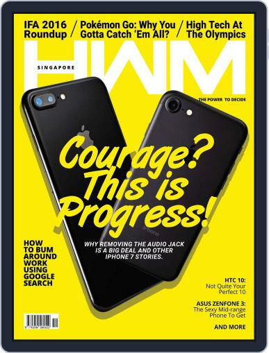 HWM Singapore October 1st, 2016 Digital Back Issue Cover