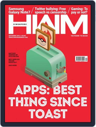 HWM Singapore (Digital) September 1st, 2016 Issue Cover