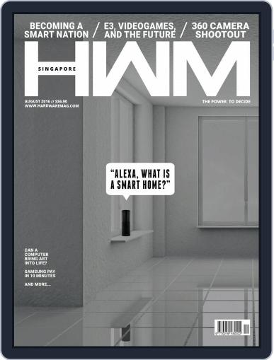 HWM Singapore August 1st, 2016 Digital Back Issue Cover
